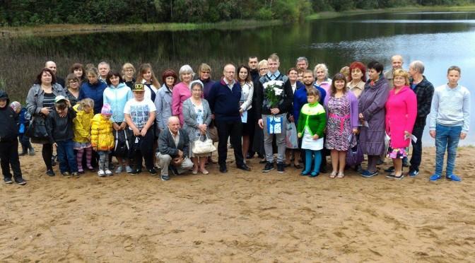 Крещение в Церкви ЕХБ Вефиль г. Кохтла-Ярве