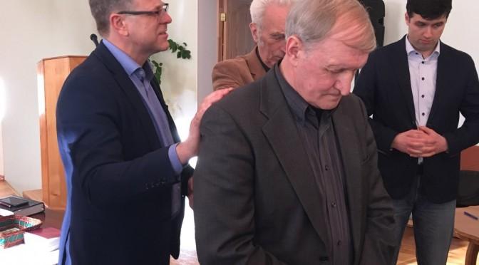 Новый старший пресвитер русского региона Союза ЕХБ Эстонии.